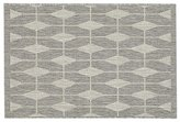 Crate & Barrel Aldo Dove Grey Indoor-Outdoor 2'x3' Rug