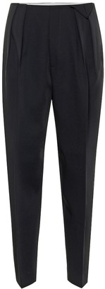 Bottega Veneta High-rise wool pants