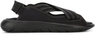 Y-3 crisscross sandals