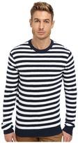 Michael Kors Terry Striped Crew Sweater