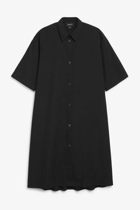 Monki A-line shirt dress