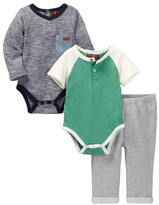 7 For All Mankind Pant 3-Piece Set (Baby Boys 0-9M)