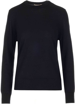 Tory Burch Madeline Contrast Trim Pullover