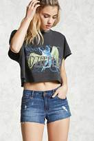 Forever 21 Raw-Cut Distressed Shorts