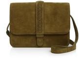Grace Atelier De Luxe Suede Collette Shoulder Bag