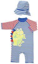 Kids Clothing- Mini Club Brand 15 Mini Club Boys Sunsafe and Hat Set