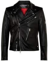 Alexander McQueen Skeleton Leather Jacket