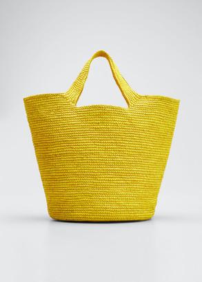 Sensi Bolso Playero Straw Tote Bag