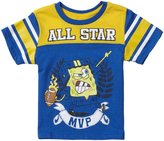SpongeBob Squarepants Nick Jr. Graphic Tee (Toddler) - Light Blue-2T