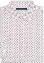 Perry Ellis Mini Print Paisley Dot Shirt
