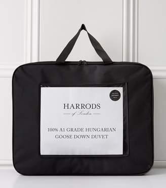 Harrods 100% A1 Grade Hungarian Goose Down Duvet 4.5 Tog
