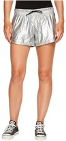 Converse Perforated Metallic Nylon Shorts Women's Shorts