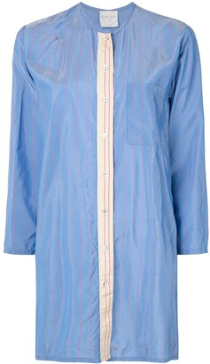 Forte Forte Striped Oversized-Fit Shirt