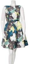 Erdem Floral Print Sleeveless Dress