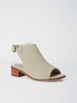 White Stuff Holiday low heeled mule sandal