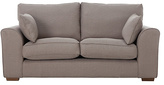 Collection New Ashdown 2 Seater Fabric Sofa - Taupe