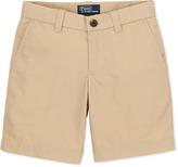 Ralph Lauren Preppy Cotton Shorts, Khaki, 2T-3T