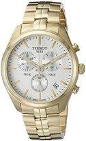Tissot Men's T1014173303100 Analog Display Quartz Gold Watch