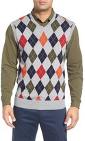 Bobby Jones Men's Argyle Merino Wool Sweater Vest
