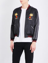 Hollywood Trading Company Santa monica shell bomber jacket