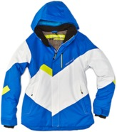 Obermeyer Boys' Renegade Blue Hooded Jacket.
