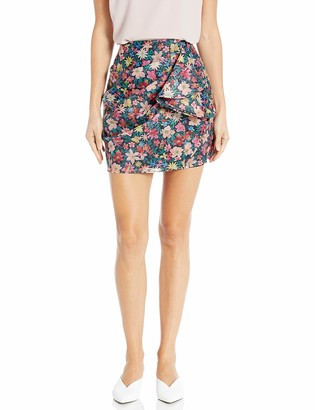 C/Meo Women's and Ever More Shirred Mini Skirt