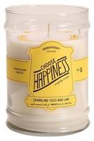 Aromatherapy Choose Happiness Glass Jar Candle