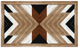 PTM Images Chevron Boho Chic (Framed)