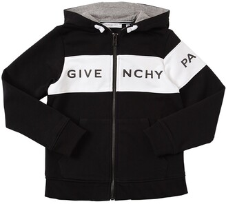 Givenchy Zip-up Cotton Sweatshirt Hoodie