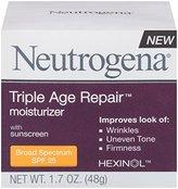 Neutrogena Triple Age Repair Moisturizer Broad Spectrum SPF 25, 1.7 Ounce