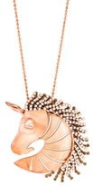 Giorgio Armani Unicorn Pendant Necklace