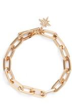 Rebecca Minkoff Women's Signature Link Star Charm Bracelet