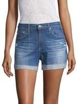 AG Jeans Hailey Ex-Boyfriend Roll-Up Jean Shorts