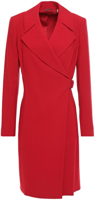Elie Tahari Charlotte Crepe Wrap Dress