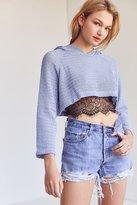 Kimchi & Blue Kimchi Blue Sammy Shrunken Hoodie Sweater