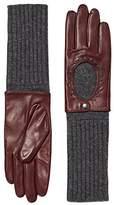 Esprit Women's 116EA1R013 Gloves, Red (Bordeaux Red), 7