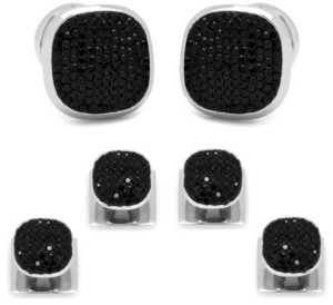 Ox & Bull Trading Co. Men's Pave Cufflink and Stud Set