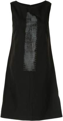 Fendi Pre-Owned printed logo straight-fit dress