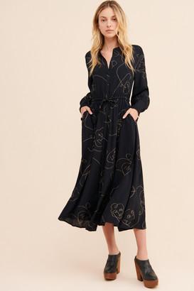 Just Female Quinn Midi Dress