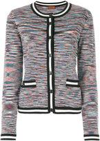Missoni striped trim cardigan