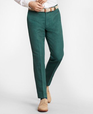 Brooks Brothers Milano Fit Linen and Cotton Chino Pants