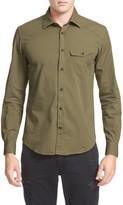 Belstaff Men's Steadway Woven Shirt