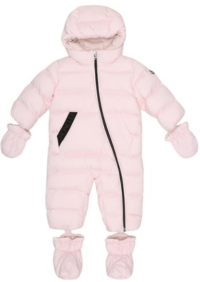 Moncler Enfant Baby down onesie