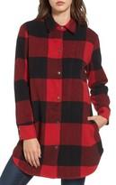 BB Dakota Women's Eldridge Oversize Buffalo Check Shirt Jacket