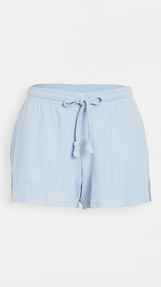 Madewell Sweet Green Sleep Shorts