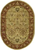 Safavieh Persian Legend Collection PL819D Handmade Ivory and Rust Wool Runner, 2 feet 6 inches by 10 feet