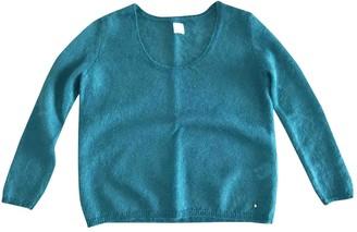 Des Petits Hauts Turquoise Wool Knitwear for Women