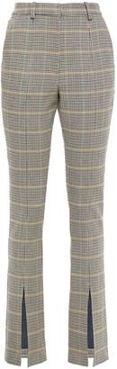 A.L.C. Prince Of Wales Checked Jacquard Slim-leg Pants