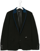 Diesel denim trim blazer