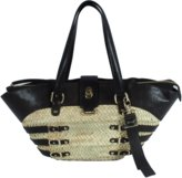 Raffia/Leather Tote Accessories
